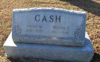 CASH, LOUISE M - Pike County, Missouri | LOUISE M CASH - Missouri Gravestone Photos