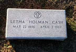 CASH, LETHA - Pike County, Missouri | LETHA CASH - Missouri Gravestone Photos