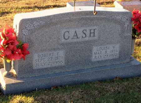 CASH, ROBERT EDGAR - Pike County, Missouri | ROBERT EDGAR CASH - Missouri Gravestone Photos