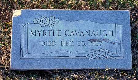ADAMS CAVANAUGH, MYRTLE - Pike County, Missouri | MYRTLE ADAMS CAVANAUGH - Missouri Gravestone Photos