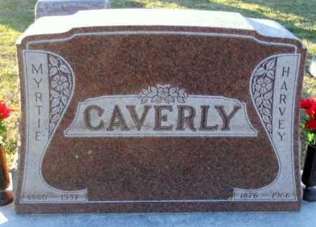 CAVERLY, HARVEY - Pike County, Missouri | HARVEY CAVERLY - Missouri Gravestone Photos