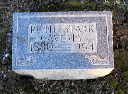 STARK CAVERLY, RUTH BINA - Pike County, Missouri | RUTH BINA STARK CAVERLY - Missouri Gravestone Photos