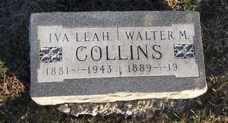 COLLINS, IVA LEAH - Pike County, Missouri | IVA LEAH COLLINS - Missouri Gravestone Photos