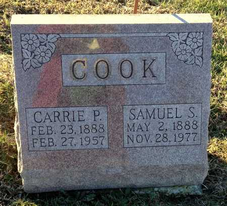 COOK, CARRIE PHYLENA - Pike County, Missouri | CARRIE PHYLENA COOK - Missouri Gravestone Photos