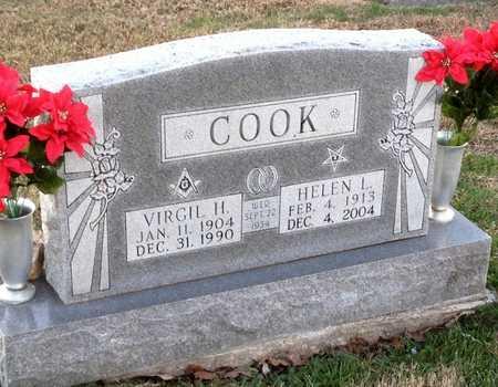 COOK, VIRGIL H - Pike County, Missouri   VIRGIL H COOK - Missouri Gravestone Photos