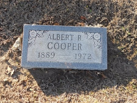 COOPER, ALBERT R - Pike County, Missouri | ALBERT R COOPER - Missouri Gravestone Photos