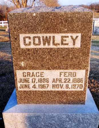 COWLEY, GRACE - Pike County, Missouri | GRACE COWLEY - Missouri Gravestone Photos