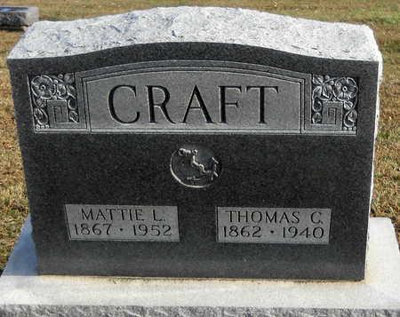 CRAFT, THOMAS C - Pike County, Missouri | THOMAS C CRAFT - Missouri Gravestone Photos