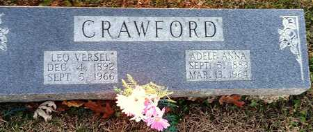 CRAWFORD, LEO VERSEL - Pike County, Missouri | LEO VERSEL CRAWFORD - Missouri Gravestone Photos