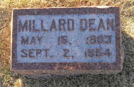 DEAN, MILLARD - Pike County, Missouri | MILLARD DEAN - Missouri Gravestone Photos