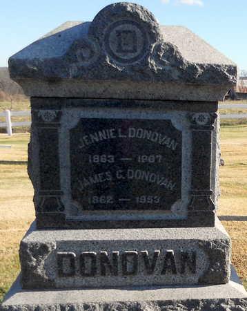 THOMPSON DONOVAN, JENNIE L - Pike County, Missouri | JENNIE L THOMPSON DONOVAN - Missouri Gravestone Photos