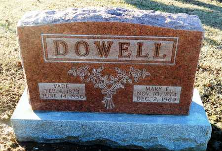 TAPLEY DOWELL, MARY ETTA - Pike County, Missouri | MARY ETTA TAPLEY DOWELL - Missouri Gravestone Photos