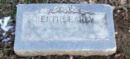 EARLY, BERTIE - Pike County, Missouri   BERTIE EARLY - Missouri Gravestone Photos