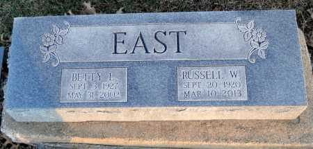 EAST, RUSSELL W - Pike County, Missouri | RUSSELL W EAST - Missouri Gravestone Photos