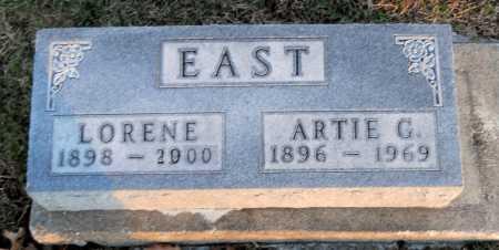 EAST, ARTIE GUY - Pike County, Missouri | ARTIE GUY EAST - Missouri Gravestone Photos