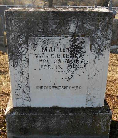 ELZEA, MAUDE CARMEN - Pike County, Missouri | MAUDE CARMEN ELZEA - Missouri Gravestone Photos
