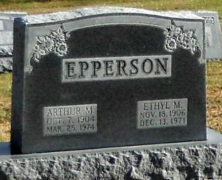 MORRIS EPPERSON, ETHYL MARIE - Pike County, Missouri | ETHYL MARIE MORRIS EPPERSON - Missouri Gravestone Photos