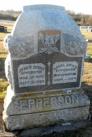 SHANNON EPPERSON, LAURA EMMA - Pike County, Missouri | LAURA EMMA SHANNON EPPERSON - Missouri Gravestone Photos