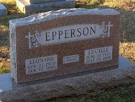 EPPERSON, LEONARD - Pike County, Missouri   LEONARD EPPERSON - Missouri Gravestone Photos