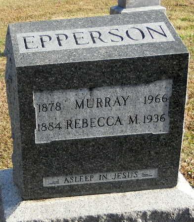 ROBERTS EPPERSON, REBECCA MAY - Pike County, Missouri | REBECCA MAY ROBERTS EPPERSON - Missouri Gravestone Photos