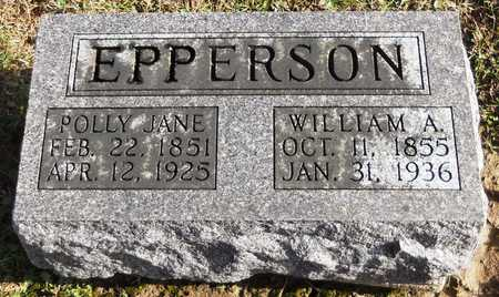"SINCLAIR EPPERSON, MARY JANE ""POLLY"" - Pike County, Missouri 