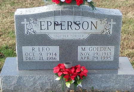 EPPERSON, M GOLDEN - Pike County, Missouri | M GOLDEN EPPERSON - Missouri Gravestone Photos