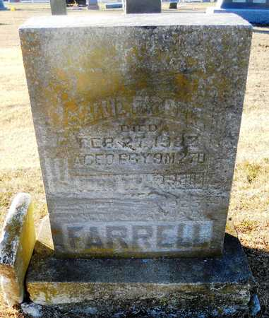 FARRELL, SALLIE - Pike County, Missouri | SALLIE FARRELL - Missouri Gravestone Photos