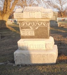 BARTON FLETCHER, EMMA JANE - Pike County, Missouri | EMMA JANE BARTON FLETCHER - Missouri Gravestone Photos