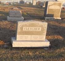 ELLIS FLETCHER, GRACE BELLE - Pike County, Missouri   GRACE BELLE ELLIS FLETCHER - Missouri Gravestone Photos
