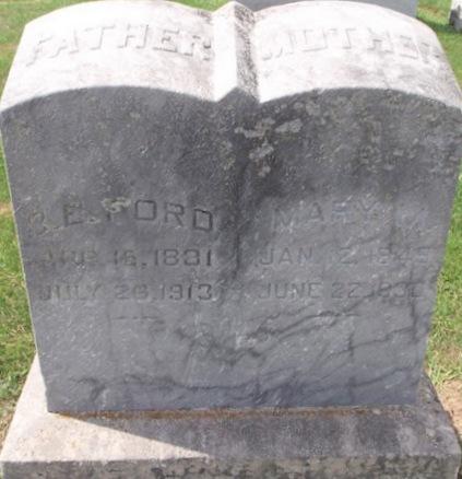 FORD, BENJAMIN EAGLETON - Pike County, Missouri | BENJAMIN EAGLETON FORD - Missouri Gravestone Photos