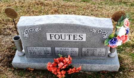 FOUTES, MARIE C - Pike County, Missouri   MARIE C FOUTES - Missouri Gravestone Photos