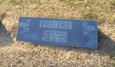 FOUTES, ROBERT HENRY - Pike County, Missouri | ROBERT HENRY FOUTES - Missouri Gravestone Photos