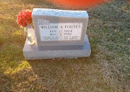 FOUTES, WILLIAM A - Pike County, Missouri | WILLIAM A FOUTES - Missouri Gravestone Photos