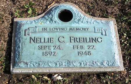 FREILING, NELLIE C - Pike County, Missouri | NELLIE C FREILING - Missouri Gravestone Photos
