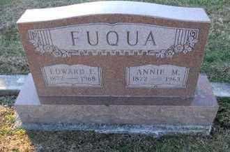 "FLETCHER FUQUA, ANNA MARY ""ANNIE"" - Pike County, Missouri   ANNA MARY ""ANNIE"" FLETCHER FUQUA - Missouri Gravestone Photos"