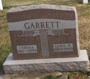 ELWOOD GARRETT, LORENA - Pike County, Missouri   LORENA ELWOOD GARRETT - Missouri Gravestone Photos
