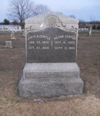 BRESHEARS GENTLE, JULIA A - Pike County, Missouri | JULIA A BRESHEARS GENTLE - Missouri Gravestone Photos