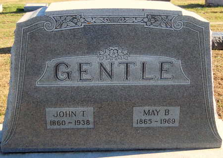 GENTLE, MAY BELLE - Pike County, Missouri | MAY BELLE GENTLE - Missouri Gravestone Photos