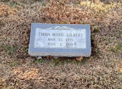 GILBERT, EMMA MARIE - Pike County, Missouri   EMMA MARIE GILBERT - Missouri Gravestone Photos