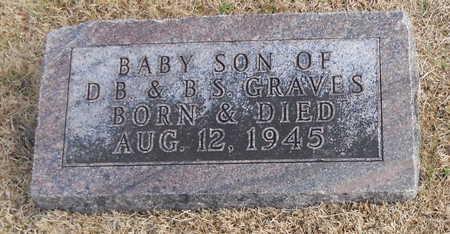 GRAVES, INFANT SON - Pike County, Missouri | INFANT SON GRAVES - Missouri Gravestone Photos