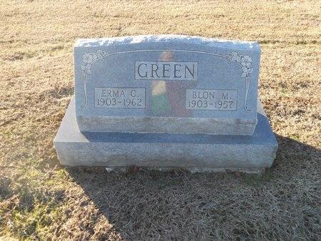 GREEN, BLON MARIE - Pike County, Missouri | BLON MARIE GREEN - Missouri Gravestone Photos