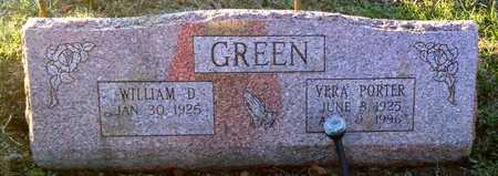 GREEN, VERA - Pike County, Missouri | VERA GREEN - Missouri Gravestone Photos