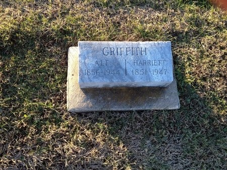 GRIFFITH, HARRIETT EMMA - Pike County, Missouri | HARRIETT EMMA GRIFFITH - Missouri Gravestone Photos
