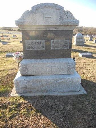 HADEN, MARY ANN - Pike County, Missouri   MARY ANN HADEN - Missouri Gravestone Photos
