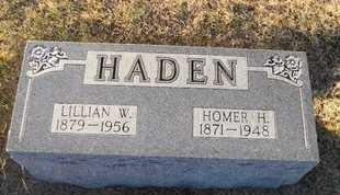 WOOD HADEN, LILLIAN - Pike County, Missouri | LILLIAN WOOD HADEN - Missouri Gravestone Photos