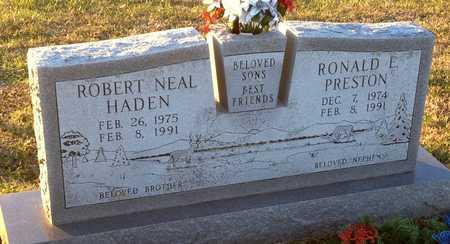 HADEN, ROBERT NEAL - Pike County, Missouri   ROBERT NEAL HADEN - Missouri Gravestone Photos