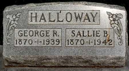 HALLOWAY, GEORGE RICHARD - Pike County, Missouri | GEORGE RICHARD HALLOWAY - Missouri Gravestone Photos