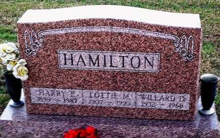 HAMILTON, HARRY E - Pike County, Missouri | HARRY E HAMILTON - Missouri Gravestone Photos
