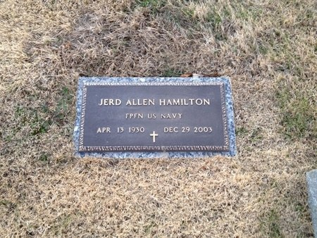 HAMILTON (VETERAN), JERD ALLEN (NEW) - Pike County, Missouri | JERD ALLEN (NEW) HAMILTON (VETERAN) - Missouri Gravestone Photos