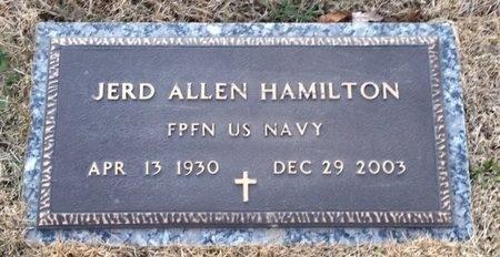 HAMILTON, JERD ALLEN VETERAN - Pike County, Missouri   JERD ALLEN VETERAN HAMILTON - Missouri Gravestone Photos
